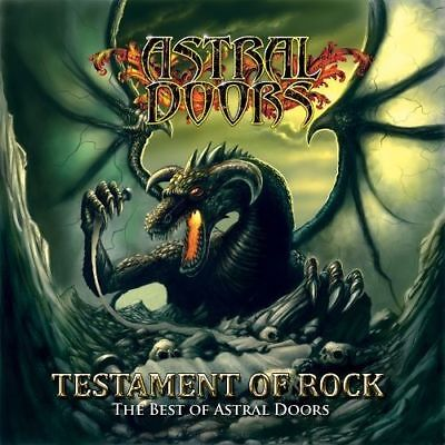 ASTRAL DOORS - Testament Of Rock - The Best Of  [Re-Release] (Best New Metal Releases)