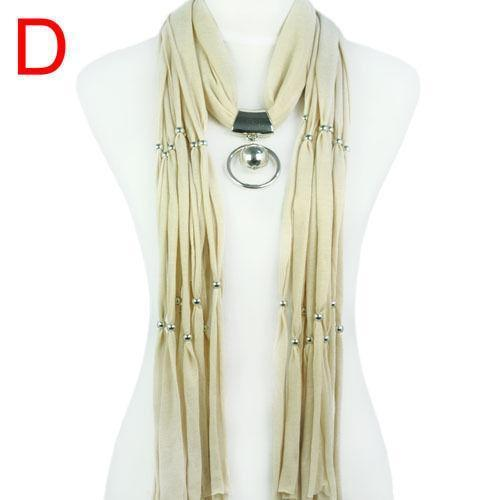Pendant scarf scarves shawls ebay jewellery pendant scarf aloadofball Images