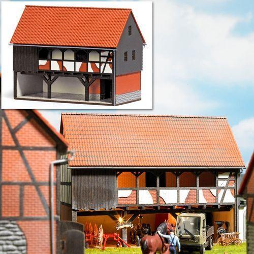SH  Busch 1511 Bauernhof: Unterstand Bausatz