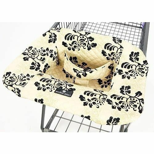 "Balboa Baby ""Lola"" Shopping Cart and High Chair Cover"