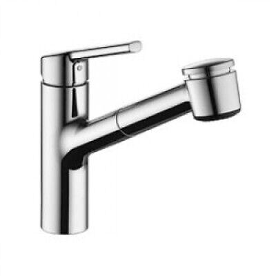 KWC Faucets 10.441.033.000 LUNA E Pull Out Spray Kitchen Fau