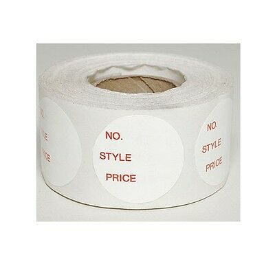 500 Self-adhesive No. Style Price Round Retail Labels 1 Stickers Tags