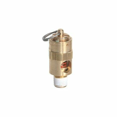 American Made 18 Size Npt Air Compressor Safety Release Pop Off Valve 160 Psi