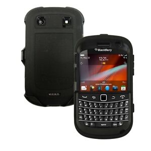 OEM Black OtterBox Case w Belt Clip DEFENDER Series BlackBerry BOLD 9900 9930