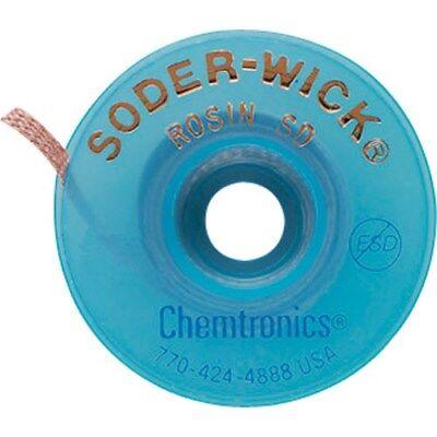 Chemtronics 80-4-10 Soder-wick Rosin Sd Desoldering Braid