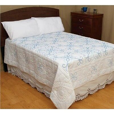 Jack Dempsey Stamped White Quilt Top - 510239