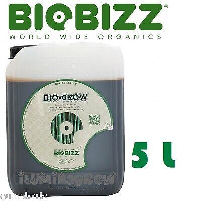 BIO-GROW 5L BioBizz Abono/Fertilizante Crecimiento 100% Biologico Bio Bizz