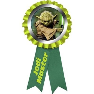 STAR WARS Generations GUEST OF HONOR RIBBON ~ Birthday Party Supplies Award Yoda ()