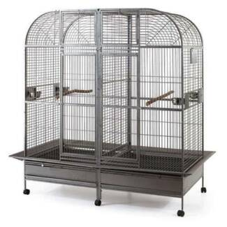Double Cage with center divider for Bird Parrot Aviary Padstow Bankstown Area Preview