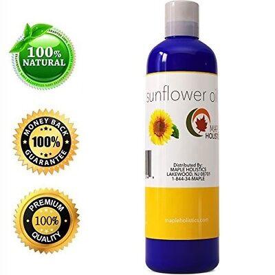 Sunflower Seed Carrier Oil Hair + Skin & Body Vitamin E Rich 100% PURE NATURAL