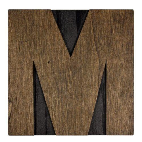 Wooden Letter M Ebay