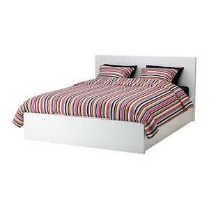 White Ikea Pull Up Bed Storage