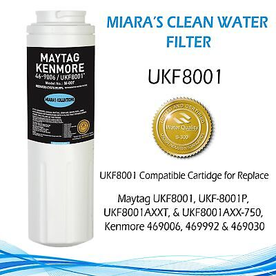 UKF8001/ EveryDrop PUR 4  Refrigerator Water Filter & Many More