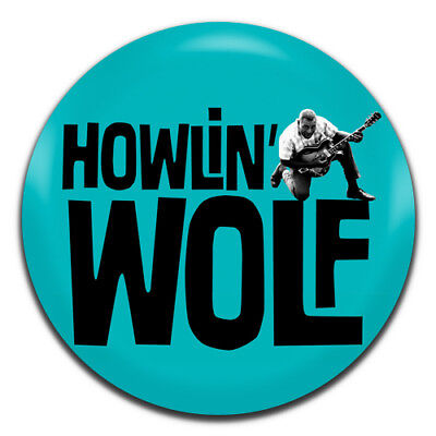 Howlin' Wolf Blues Rock 'N' Roll 50's 25mm / 1 Inch D Pin Button Badge