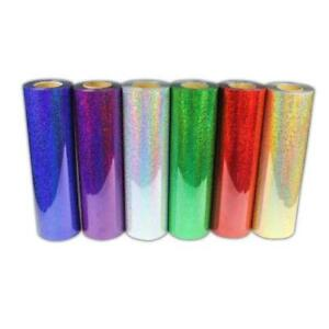 "6 Yard Holographic Heat Transfer Vinyl  Width is 20""   002601"