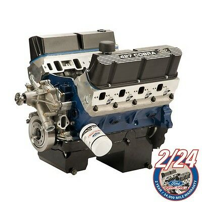 427 CUBIC INCH 535 HP 545 lb.ft. torque CRATE ENGINE REAR SUMP M-6007-Z427FRT