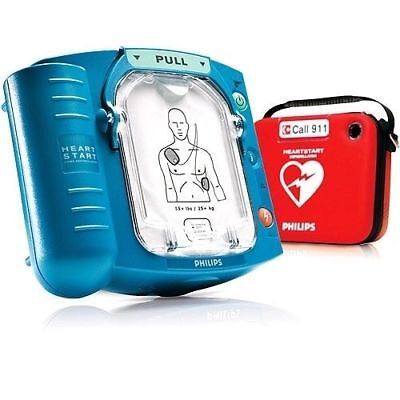Philips Heartstart Onsite Aed M5066a 122020 Pads 2021 Battery 2 Year Warranty