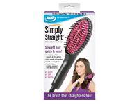 Simply Straight - Heated ceramic hairbrush