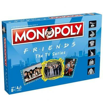 Friends Edition Monopoly Family Board Game