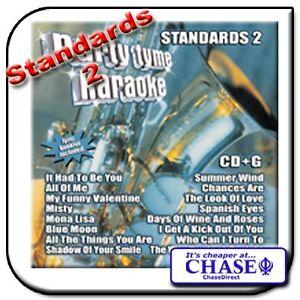 KARAOKE-CD-CDG-CD-G-DISC-BACKING-TRACKS-SONG-STANDARDS-2