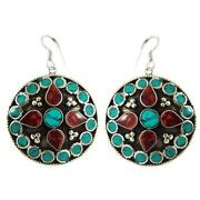 Sterling Turquoise Dangle Earrings