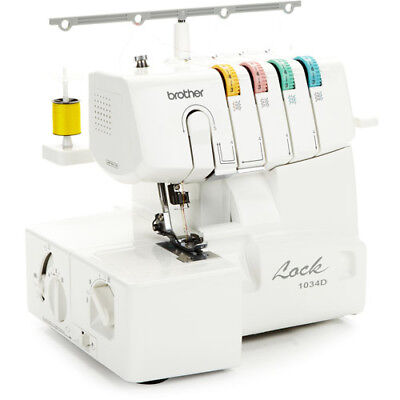 Brother 1034D 3/4 Thread Serger with Differential Feed and Warranty