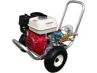 Honda cold water pressure washer & Mosmatic surface cleaner