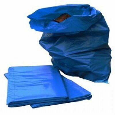5 EXTRA HEAVY DUTY BLUE RUBBLE BAGS/SACKS BUILDERS GARDEN RUBISH BAGS