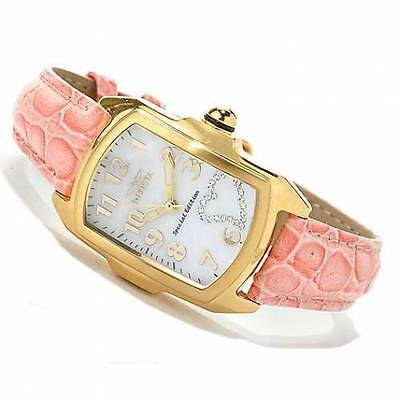 Invicta Women's 14563 Baby Lupah Mother-of-Pearl Crystal Heart Dial Watch -