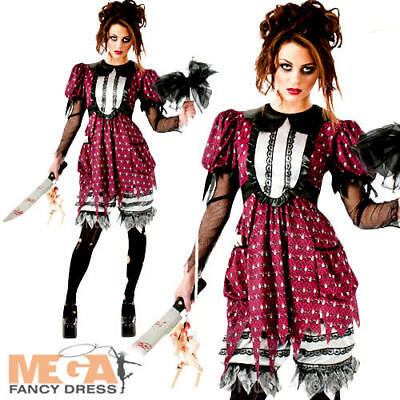 Little Bo Peep Creep Ladies Halloween Fairytale Horror - Kostüme Little Bo Peep