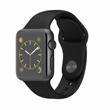 Apple Sports Watch Gray Aluminum Case/Black Strap 38mm,New In Box Seal.