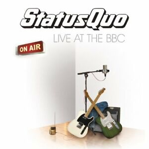 Status Quo - CD Box set - Live at the BBC 4 cds