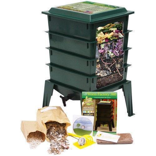 kitchen compost bin ebay. Black Bedroom Furniture Sets. Home Design Ideas
