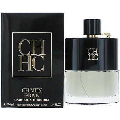 Ch Men Prive By Carolina Herrera 3 4 Oz Edt Cologne For Men New In Box