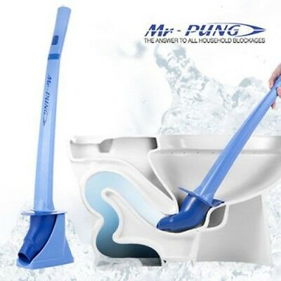 MR-PUNG Instant Bathroom Toilet Drain Blockage Unclogger Plunger CO2 Excluded
