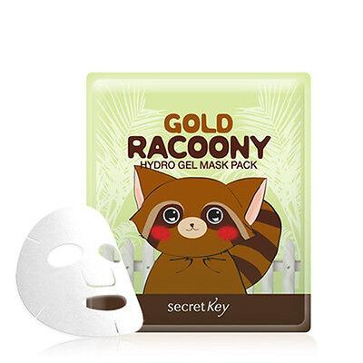 Secret Key Gold Racoony Hydro Gel Mask Pack 1pcs