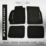 Lancer Evolution Floor Mats