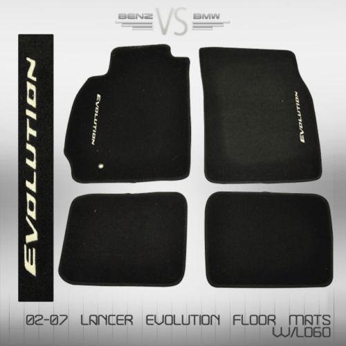 Lancer Evolution Floor Mats | eBay