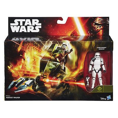 "Star Wars Assault Walker Vehicle & 3.75"" inch Stormtrooper Sergeant Figure"