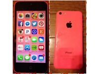 Apple Iphone 5c Pink - Great condition - Unlocked to any network