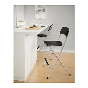 IKEA FRANKLIN Bar stools (63 cm) Selling 4 chairs