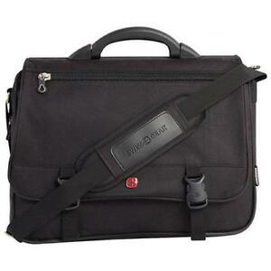 "SwissGear SWA0506 15.6"" Expandable Laptop Messenger Bag - Black (New Other)"