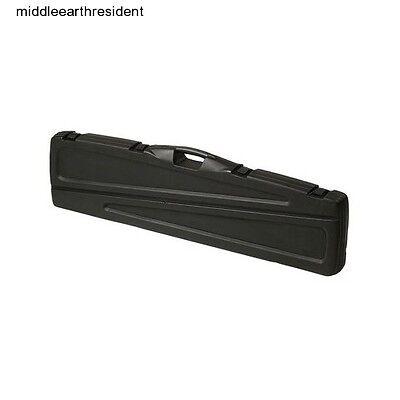 "51"" Gun Case Plano 2 Scoped Rifle Shotgun Lock Protect Foam"