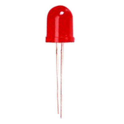 20pcs 10mm Red Emitting Diode Light Bright Led