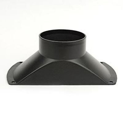 Small Plastic Dust Hood For Dust Collector Flange For 4 Hose Collection