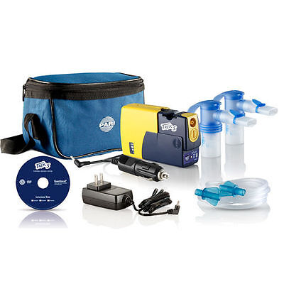 Pari Trek S Lithium Ion Powered Battery Operated Portable Nebulizer System Battery Operated Nebulizer