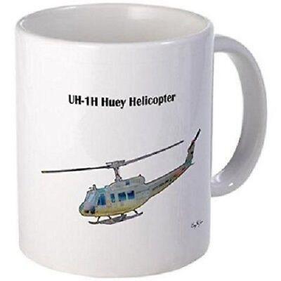 Used, 11oz mug UH-1H Huey Helicopter - Printed Ceramic Coffee Tea Cup for sale  Eudora