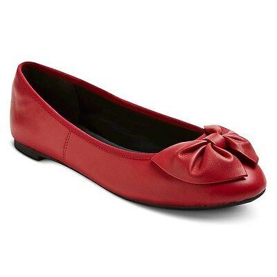 Womens Sam   Libby Chelsea Leather Bow Flats