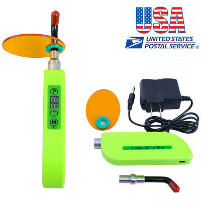 Dental Wireless Cordless Led Curing Light Lamp 1500mw Bs300 Dental Supply Usa