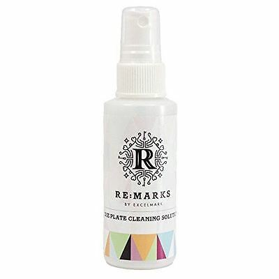 Remarks Stamp Die Plates Cleaning Solution Spray Bottle 2 Oz